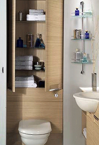 20 creative bathroom storage ideas shelterness for Clever bathroom ideas