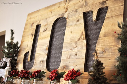 chalkboard JOY sign (via cherishedbliss)