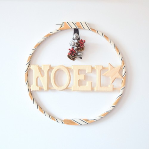 Creative DIY Holiday Wreath Of A Hoop