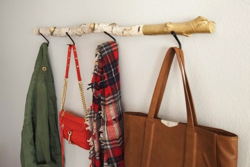 8 Creative DIY Coat Hangers For Your Entryway