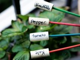 easy cork plant markers