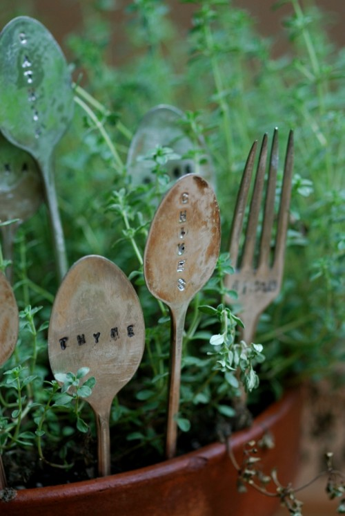 27 Creative DIY Garden Markers From Different Materials | Shelterness