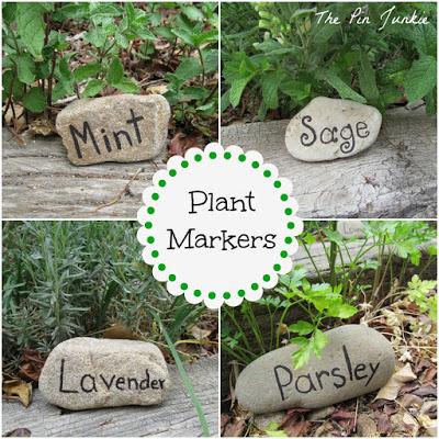 rock plant markers (via thepinjunkie)