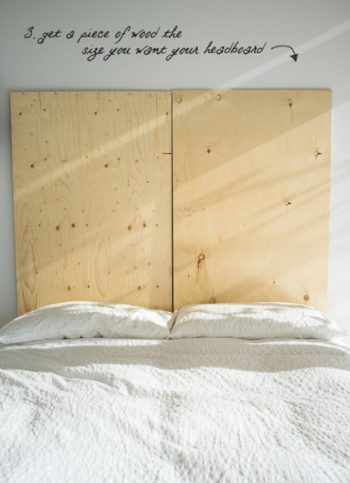 creative diy headboard of old books shelterness