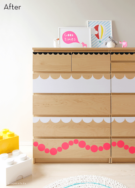 17 Creative DIY IKEA Malm Dresser Renovations