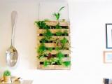 pallet living wall garden