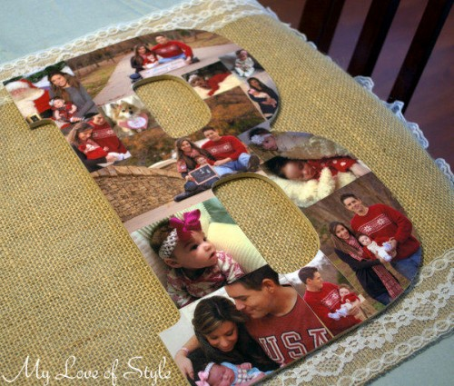 wood letter photo collage (via myloveofstyle)
