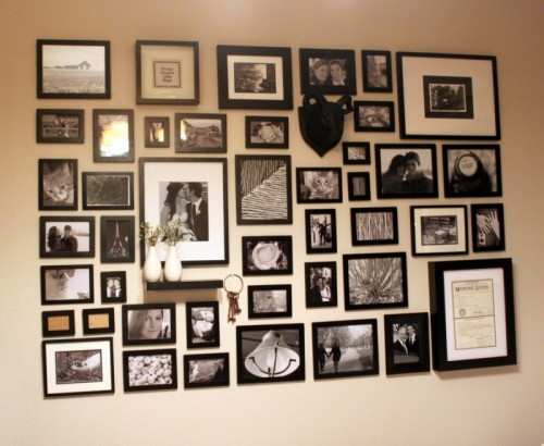 photo wall (via whitsamusebouche)