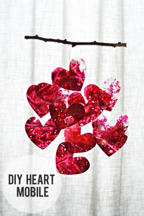 13 Creative Diy Valentine S Day Decorations Shelterness