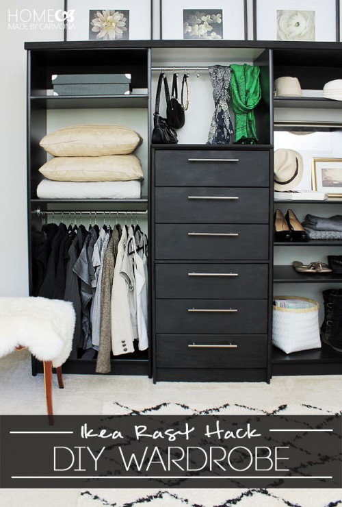 8 Creative DIY Wardrobes For Every Space