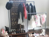 industrial wardrobe racks