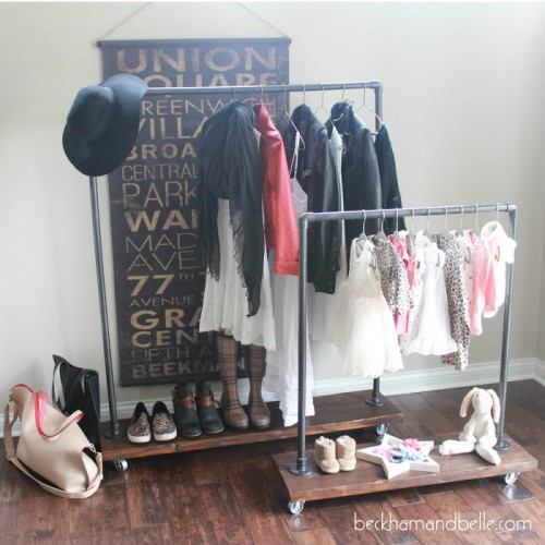Organize Your Clothes 10 Creative And Effective Ways To Store And Hang Your Clothes: 8 Creative DIY Wardrobes For Every Space