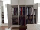 wardrobe inside a wall