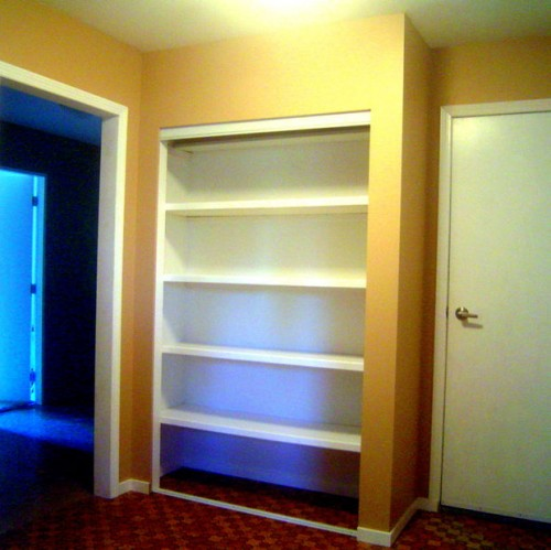 built-in wardrobe (via instructables)