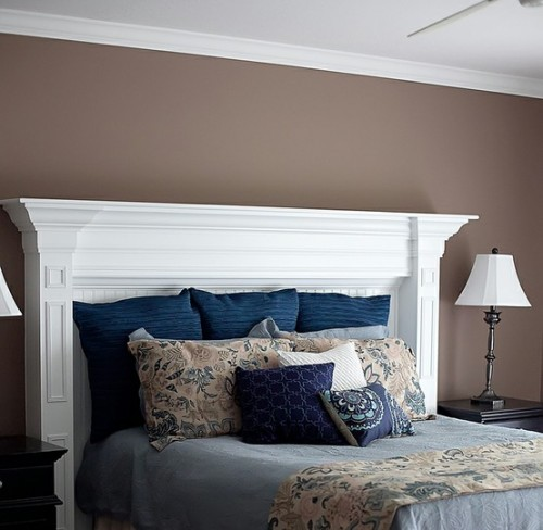 20 Creative Headboard Ideas To Imitate A Fireplace