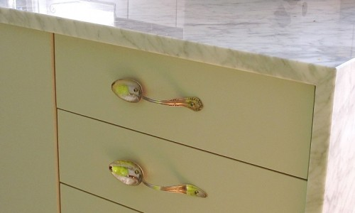 Creative Idea For Cozy DIY Handles For Kitchen Cabinets