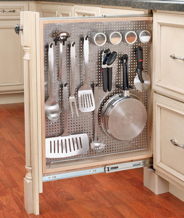 33 creative kitchen storage ideas shelterness for Kitchen ideas storage