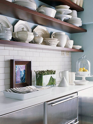 Open Kitchen Cabinets Ideas