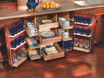 33 creative kitchen storage ideas shelterness for Unusual storage ideas
