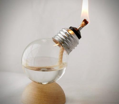 DIY mini oil lamp