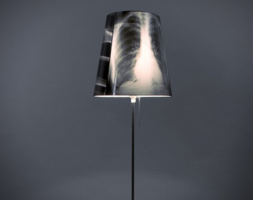DIY X-ray lamp (via hiconsumption)