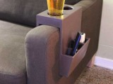 beverage and remote caddy