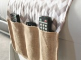 fabric remote holder