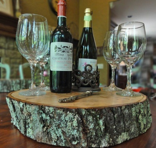 Tree Stump Tray