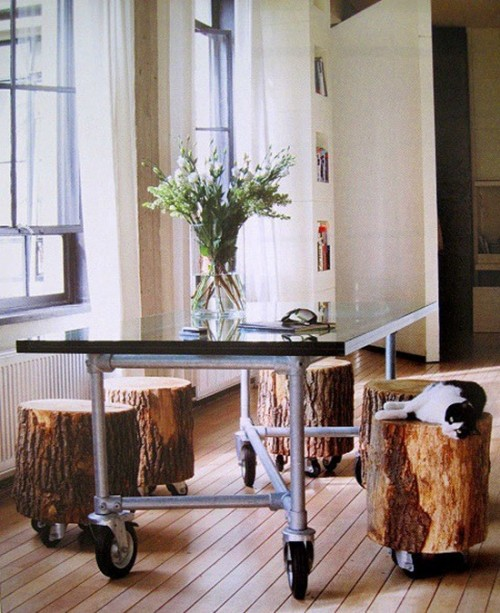Creative Tree Stump Ideas