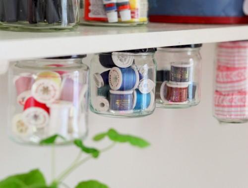 DIY Creative Under Shelf Storage