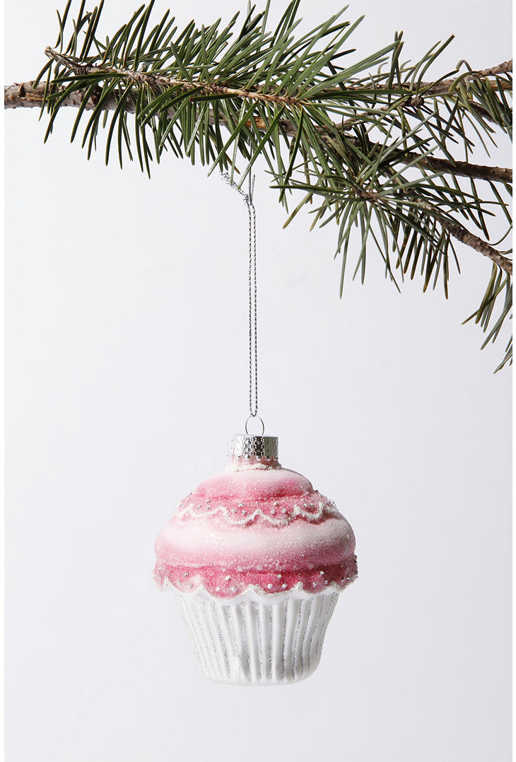 Cupcake Christmas Tree Ornament