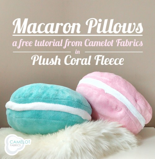 Cute And Colorful Diy Macaron Pillows