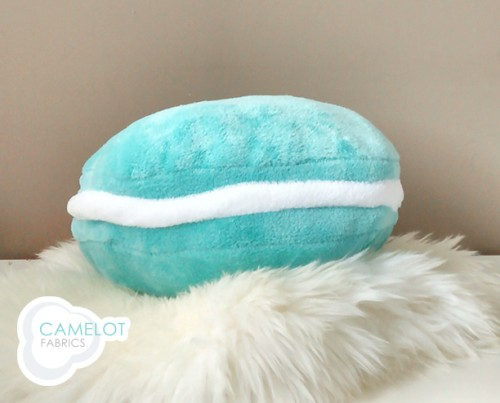 cute and colorful diy macaron pillows