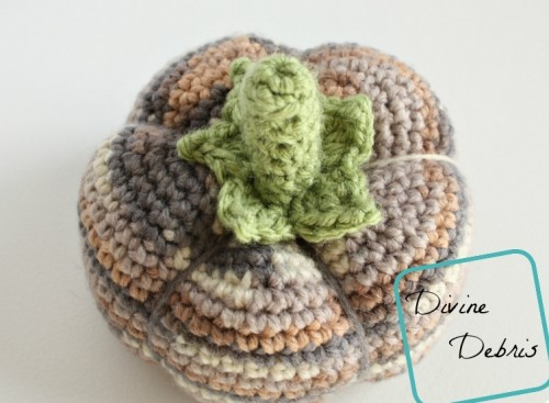 Cute And Cozy DIY Crocheted Pumpkins