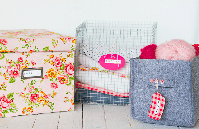 Picture Of cute and girly diy storage boxes  2