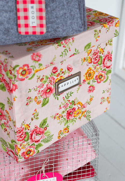 Cute And Girly DIY Storage Boxes