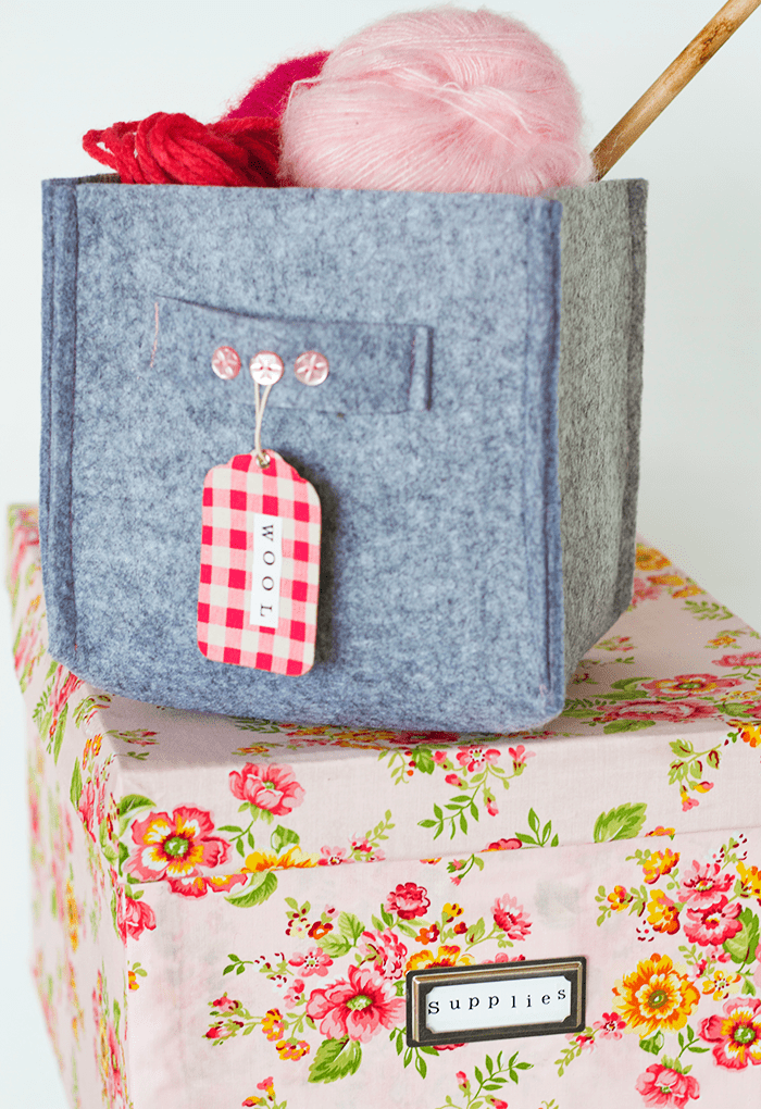 Picture Of cute and girly diy storage boxes  4