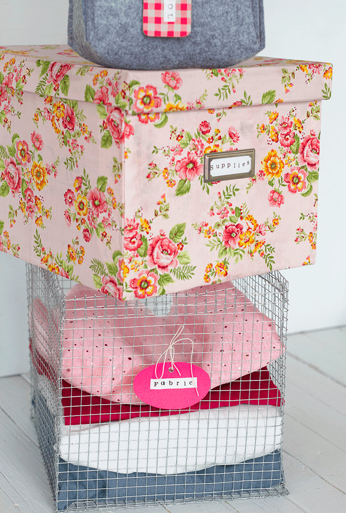 Picture Of cute and girly diy storage boxes  5