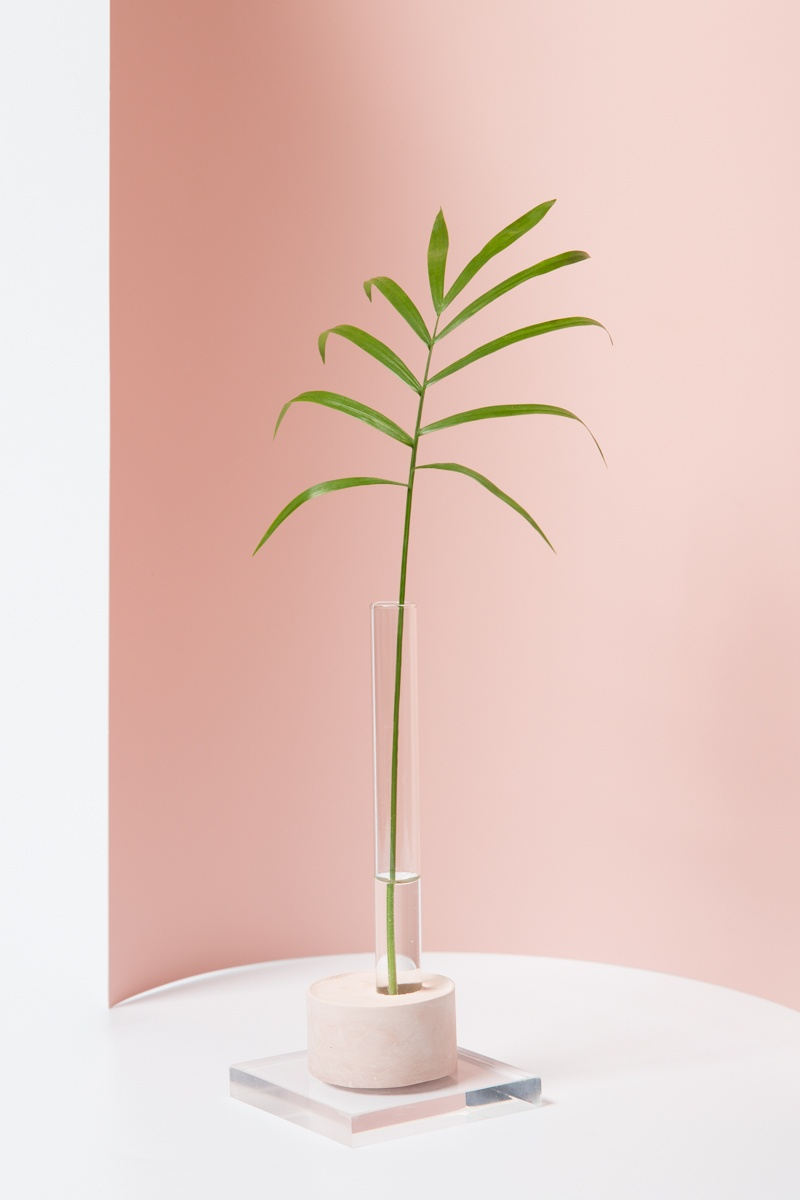 Picture Of cute and simple diy oslo bud vases  2