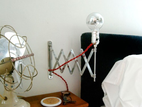 Cute And Simple Expandable Bedside Lamp