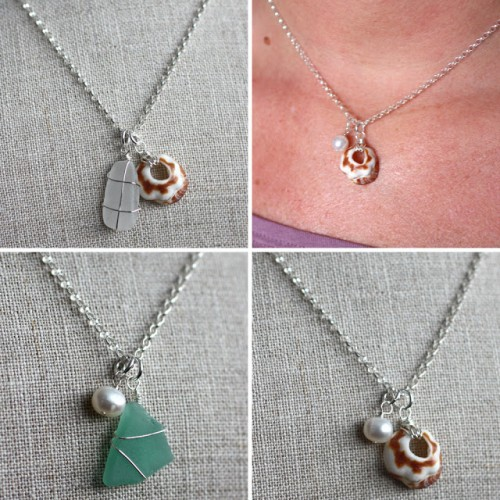 shell and pearl necklaces (via erika-shineon)