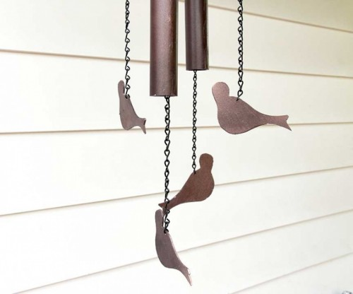 Cute Diy Birdy Windchimes For Spring Decor Shelterness