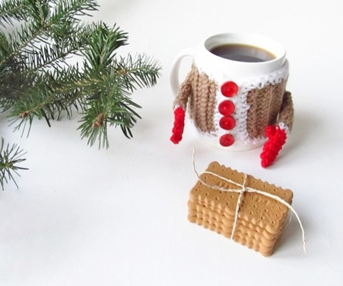 Cute DIY Crochet Hug Mug Cozy