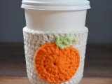 cute-diy-crochet-pumpkin-coffee-cup-cozy-3