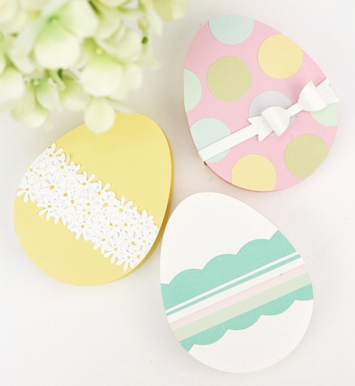 Easter egg candy box