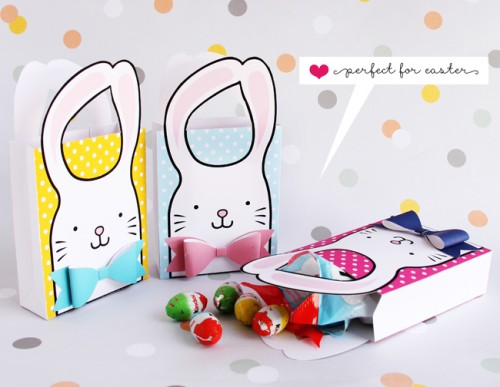 11 cute diy easter gift wraps boxes and tags shelterness printable easter boxes via hellowonderful negle Image collections