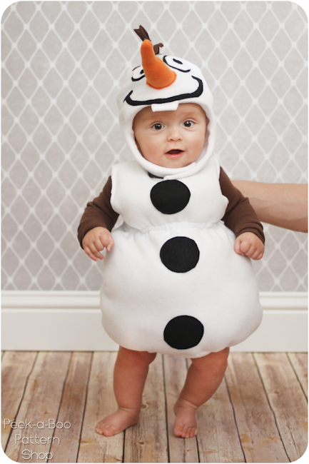 Olaf costume (via peekaboopages)