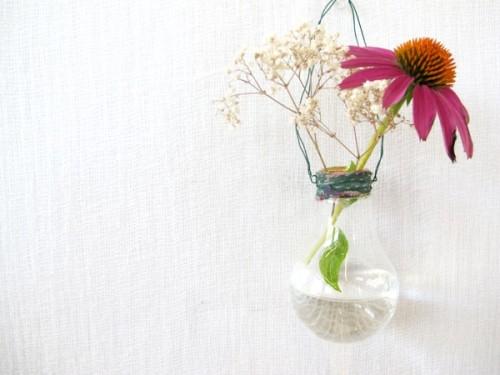 Glühbirnen Vase