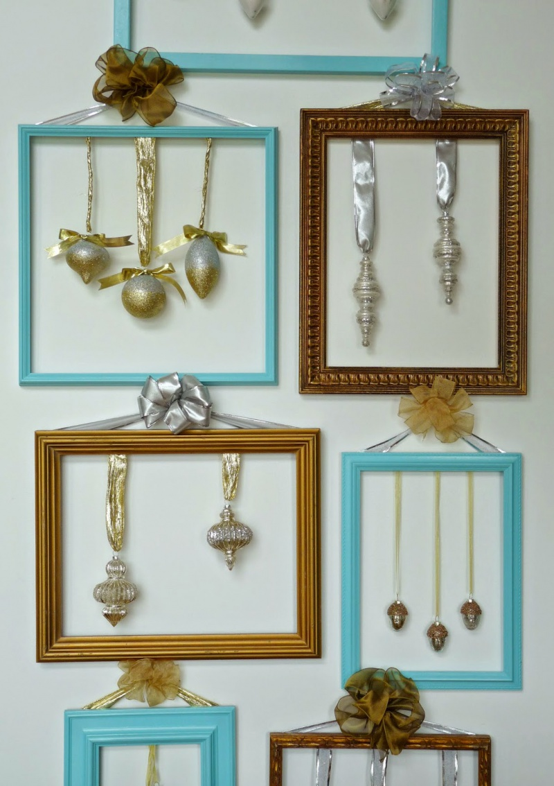 Picture Of cute diy ornament frames to bring a festive mood  1