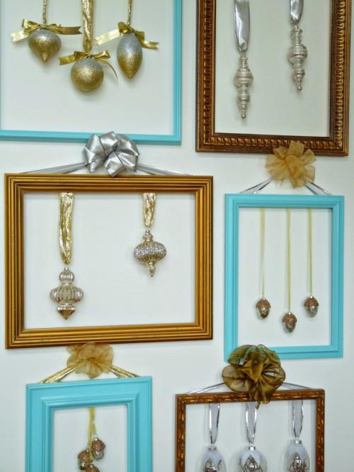 Cute DIY Ornament Frames To Bring A Festive Mood